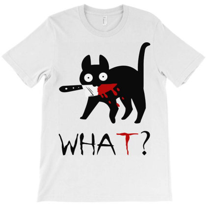 Funny Cat T-shirt Designed By Gelica Hits