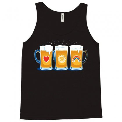 Care Beers Tank Top Designed By Iamar25