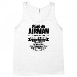 Being An Airman... Tank Top   Artistshot