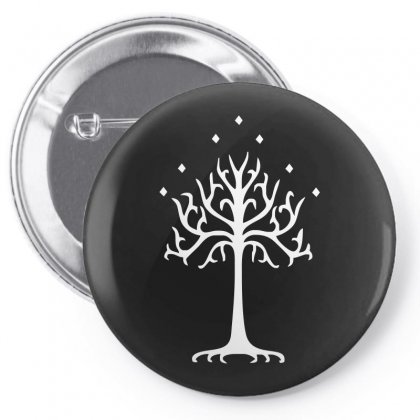 White Tree Of Gondor Pin-back Button Designed By Mdk Art