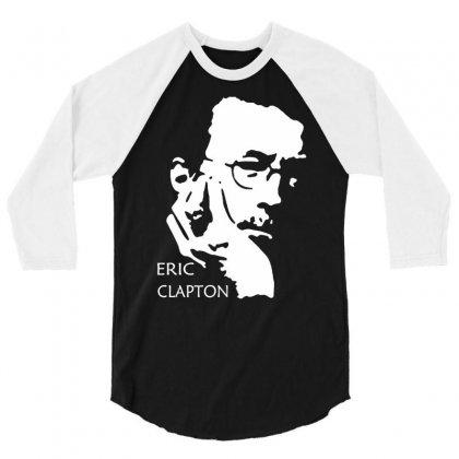 Eric Clapton 3/4 Sleeve Shirt Designed By Iamar25