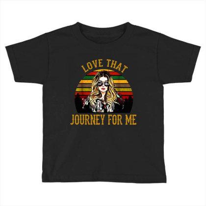 Alexis Rose Love That Journey For Me Vintage Toddler T-shirt Designed By Li Min Ho