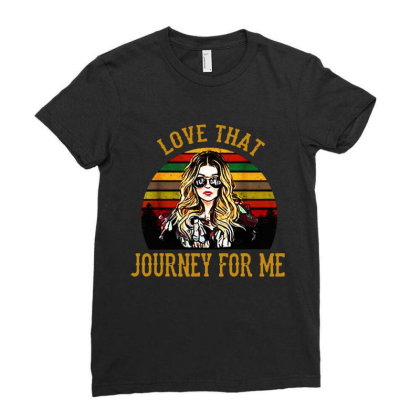 Alexis Rose Love That Journey For Me Vintage Ladies Fitted T-shirt Designed By Li Min Ho