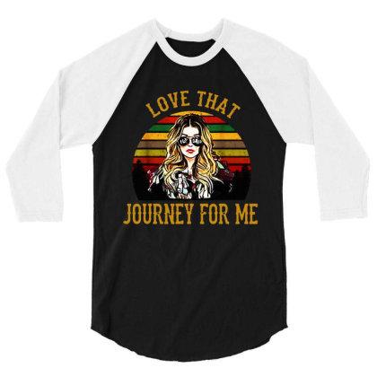 Alexis Rose Love That Journey For Me Vintage 3/4 Sleeve Shirt Designed By Li Min Ho