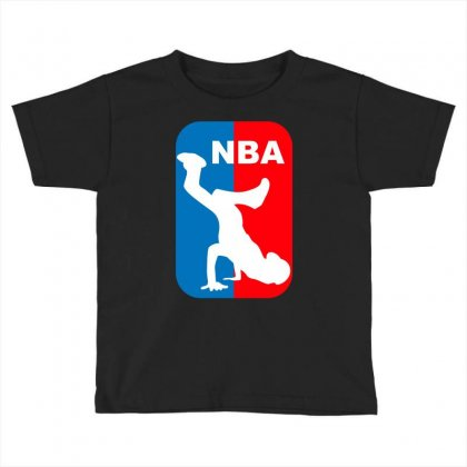 National Breakdancing Association Breakdance Toddler T-shirt Designed By Iamar25