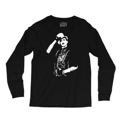 Marilyn Manson Salute Long Sleeve Shirts Designed By Iamar25