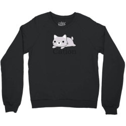 funny cat science t shirt Crewneck Sweatshirt | Artistshot