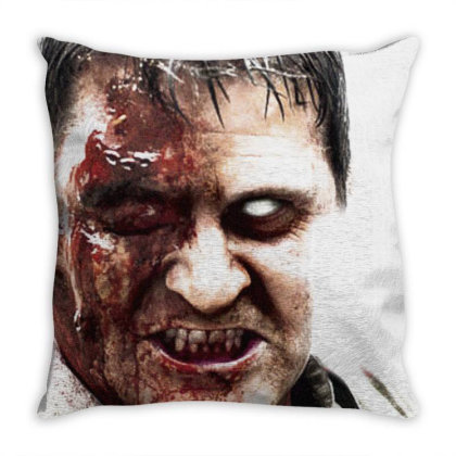 Dawn Of The Dead Throw Pillow Designed By Activoskishop