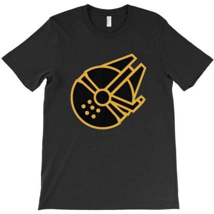Millennium Falcon T-shirt Designed By Ggsvfrem