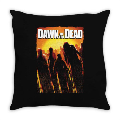 Dawn Of The Dead. Remake 2004 Throw Pillow Designed By Activoskishop