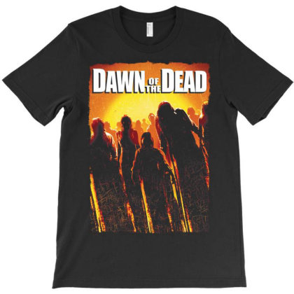 Dawn Of The Dead. Remake 2004 T-shirt Designed By Activoskishop