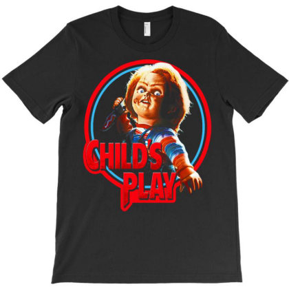 Doll Of Evil. Classic Terror T-shirt Designed By Activoskishop