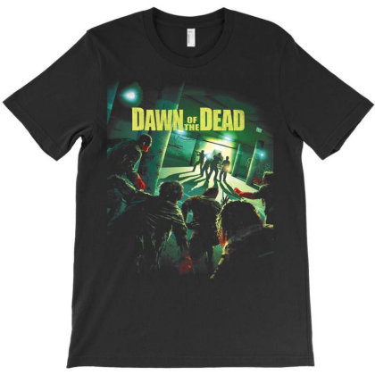 Dawn Of The Dead. George Romero 2004 T-shirt Designed By Activoskishop