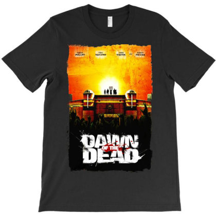 Dawn Of The Dead. Romero T-shirt Designed By Activoskishop