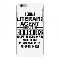 Being a Literary Agent is like Riding a Bike iPhone 6 Plus/6s Plus Case | Artistshot