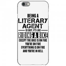 Being a Literary Agent is like Riding a Bike iPhone 6/6s Case | Artistshot