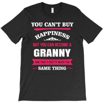 Happiness Is Being A Granny T-shirt Designed By Edward Kudder