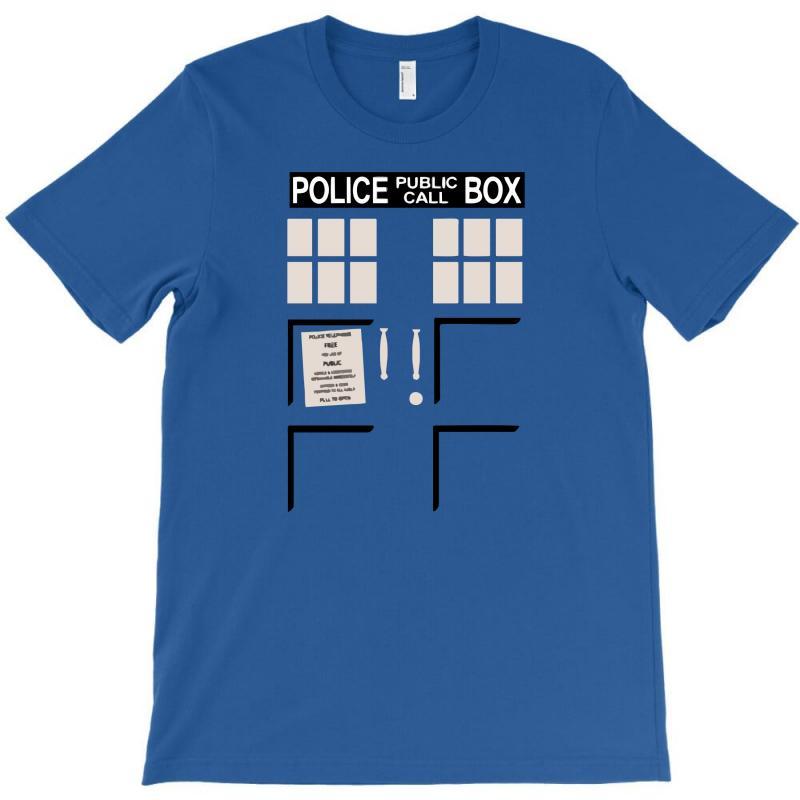Police Public Box T-shirt | Artistshot