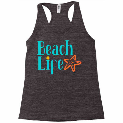 Beach Life Racerback Tank Designed By Ombredreams