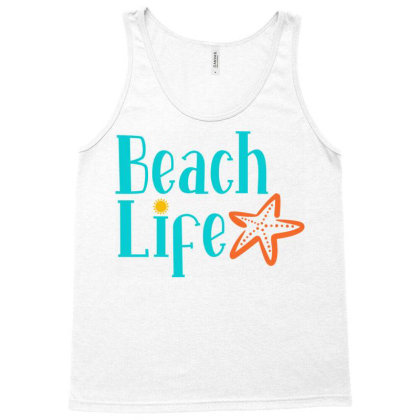Beach Life Tank Top Designed By Ombredreams