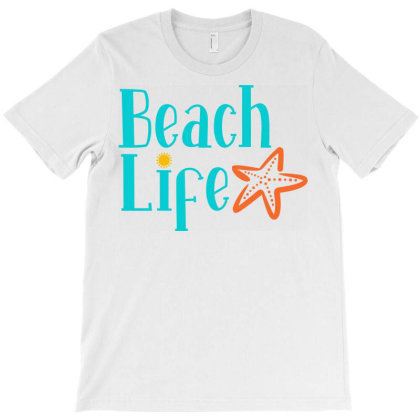 Beach Life T-shirt Designed By Ombredreams