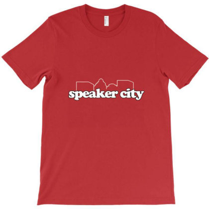 Speaker City T-shirt Designed By Freindes