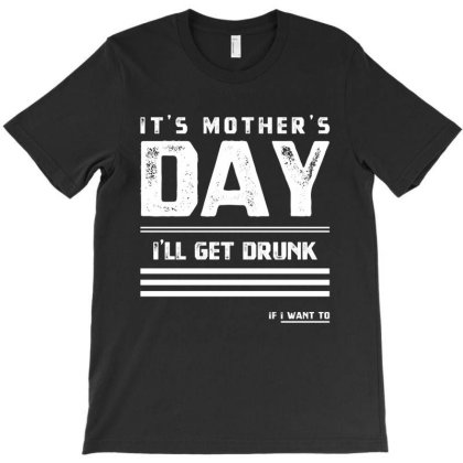 Mother's Day Drunk T - Mothers Day Gift Cool T-shirt Designed By Diogo Calheiros