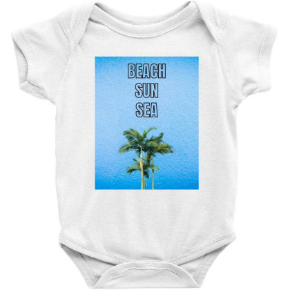 Beach Baby Bodysuit Designed By Suelen Mascarenhas