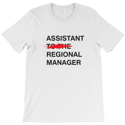 Assistant To The Regional Manager T-shirt Designed By Vetor Total