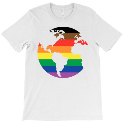All The Colors Of The World T-shirt Designed By Vetor Total