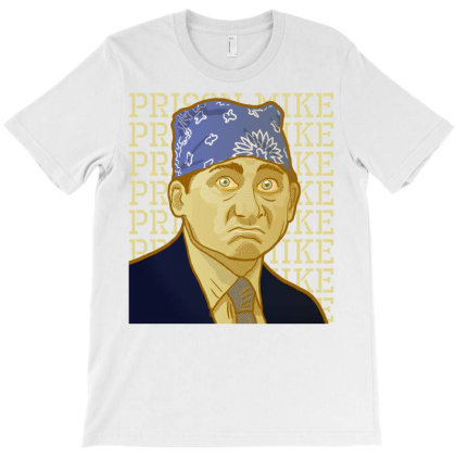 Prison Mike - The Office T-shirt Designed By Vetor Total
