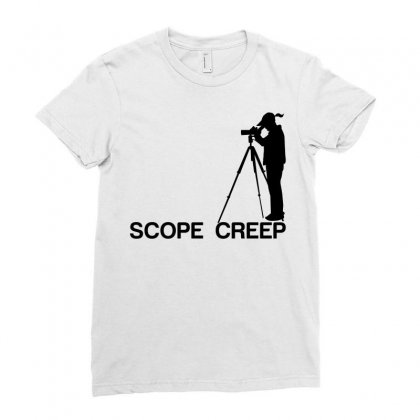 Scope Creep Ladies Fitted T-shirt Designed By Sabriacar