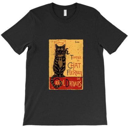 Chat Flerken T-shirt Designed By Corys