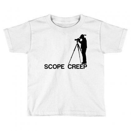 Scope Creep Toddler T-shirt Designed By Sabriacar