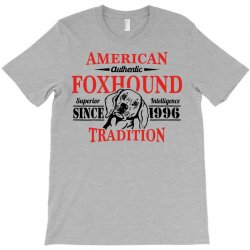 Authentic American Foxhound Tradition T-shirt Designed By Tshiart