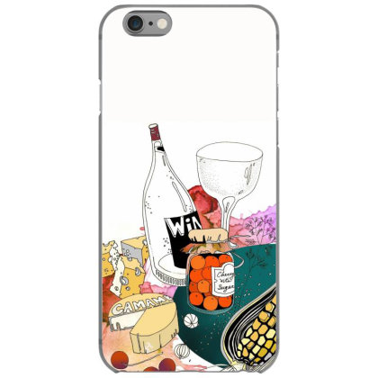 Tomatoes And Wine Iphone 6/6s Case Designed By Zorro13