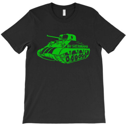 M4 Sherman Tank World T-shirt Designed By Jacobs