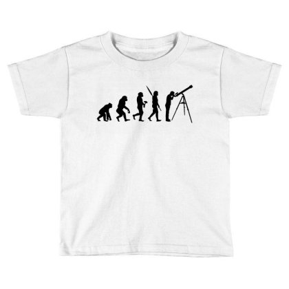 Astronomy Evolution Toddler T-shirt Designed By Leona Art