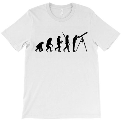 Astronomy Evolution T-shirt Designed By Leona Art
