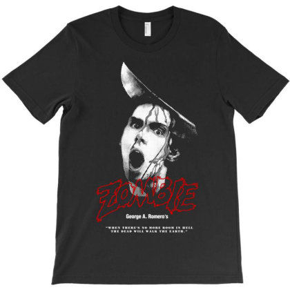 Dawn Of The Dead. Zombie T-shirt Designed By Activoskishop