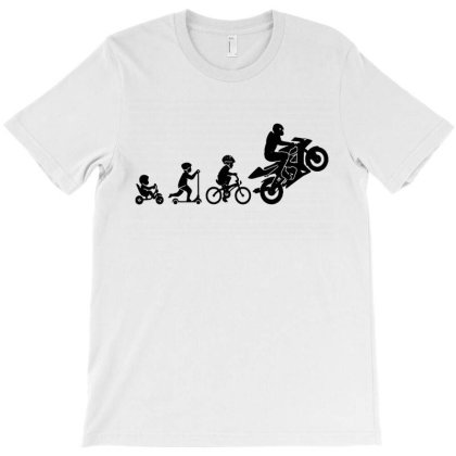 Motorbike Evolution T-shirt Designed By Jacobs