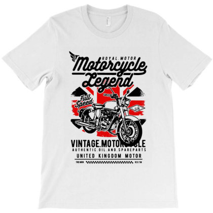Motorcycle Legend T-shirt Designed By Jacobs