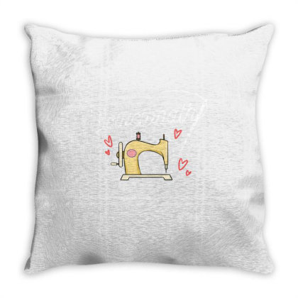 Sewciopath For Sewing Lover Throw Pillow Designed By Ngiart