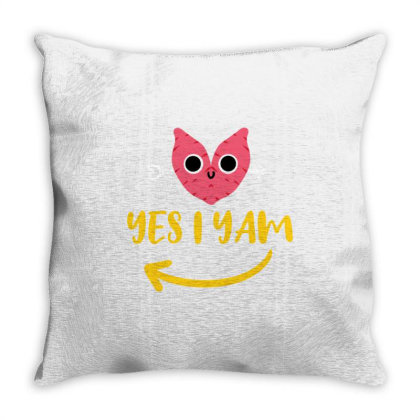 She's My Sweet Potato I Yam For Valentines Day Couple Throw Pillow Designed By Ngiart