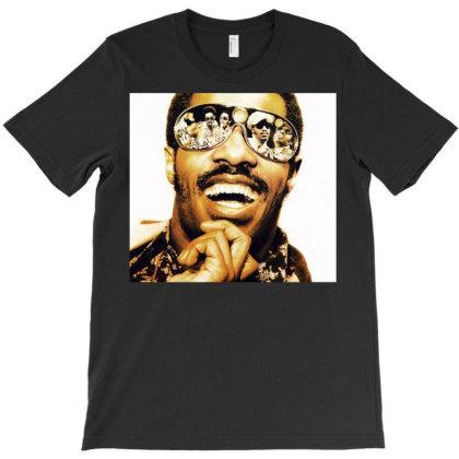 Stevie Smile Wonder T-shirt Designed By Princeone