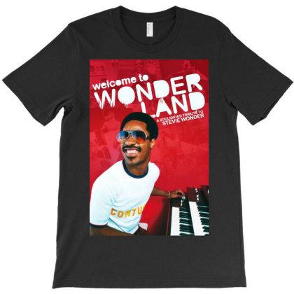 Wonder Land Stevie T-shirt Designed By Princeone