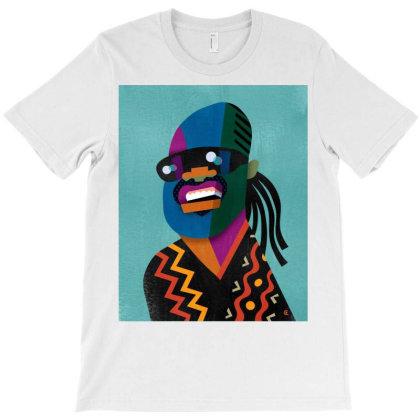 Stevie Sketch Wonder T-shirt Designed By Princeone