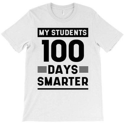 100th Day Of School - Teacher Gift T-shirt Designed By Diogo Calheiros