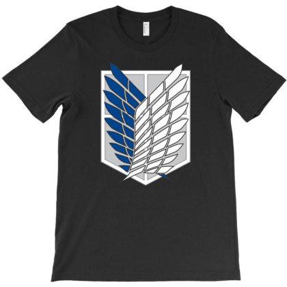 Attack On Titans T-shirt Designed By Smartlamsa