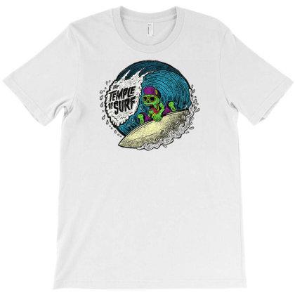 The Temple Of Surf Logo Surfing Fremantle T-shirt Designed By Smartlamsa